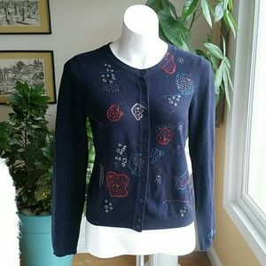 Anthropology Jane Whulen sweater size Medium